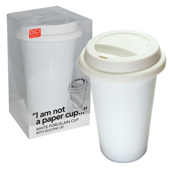 Environmentally Friendly Porcelain Coffe Cup