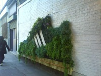 green guerilla mur