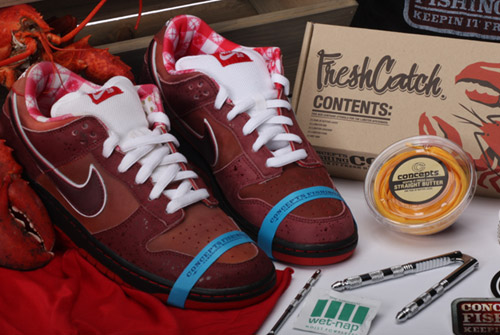 sports shoes 8aa76 6197e concepts + nike  sb lobster dunk low.